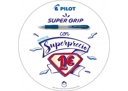 SUPERGRIP con un SUPERPRECIO. 1€