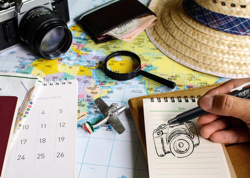 Dibuja con Pilot tus viajes por el mundo