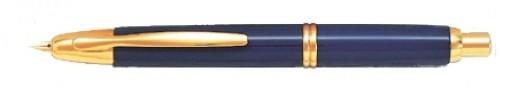 PLUMA RETRACTIL FK-1500 FINA DORADA
